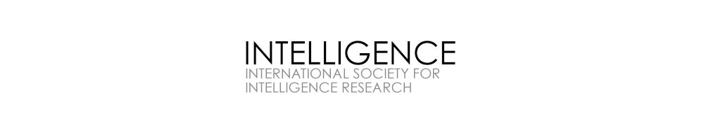 International Society For Intelligence Research 2020